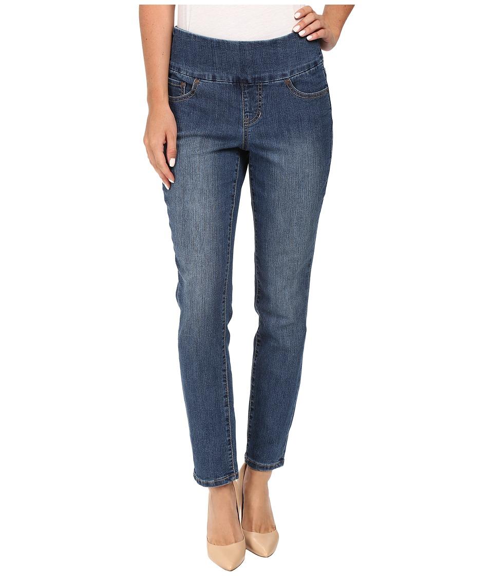 Jag Jeans Amelia Slim Ankle Comfort Denim in Blue Dive (Blue Dive) Women