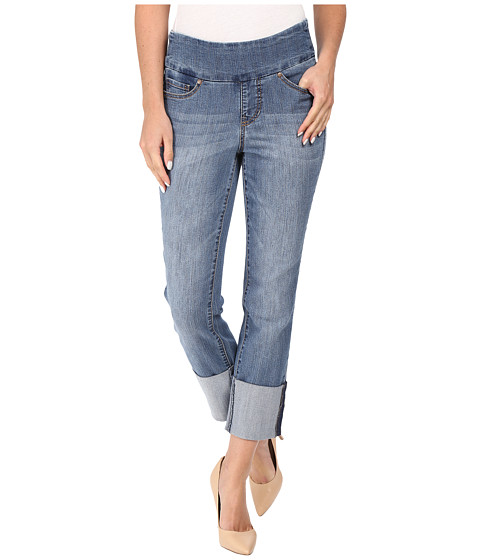 Jag Jeans Lewis Pull-On Straight Cuffed Comfort Denim in Weathered ...