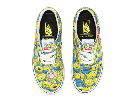Vans Kids Era Toy Story (Little Kid/Big Kid) - (Toy Story) Aliens/True White