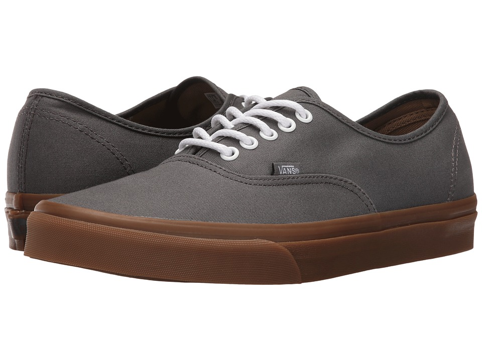 Vans Authentic ((Gumsole) Pewter/Light Gum) Skate Shoes