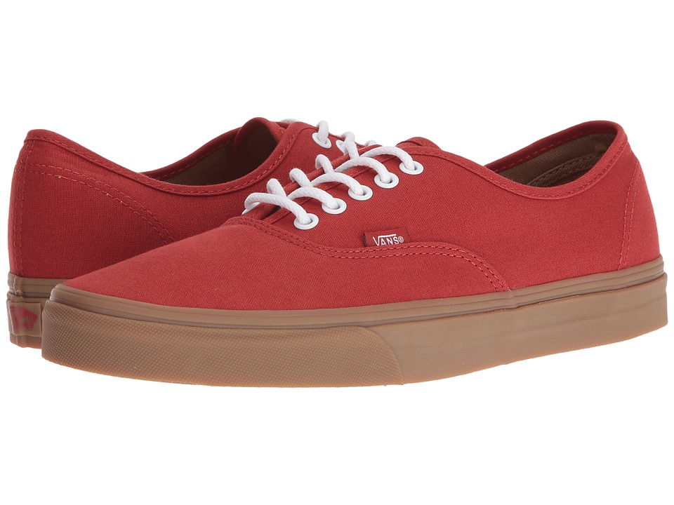 Vans Authentic ((Gumsole) Bossa Nova/Light Gum) Skate Shoes