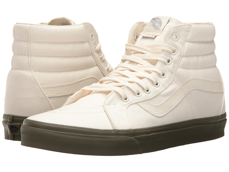 Vans - SK8-Hi Reissue ((Vansguard) Classic White/Ivy Green) Skate Shoes