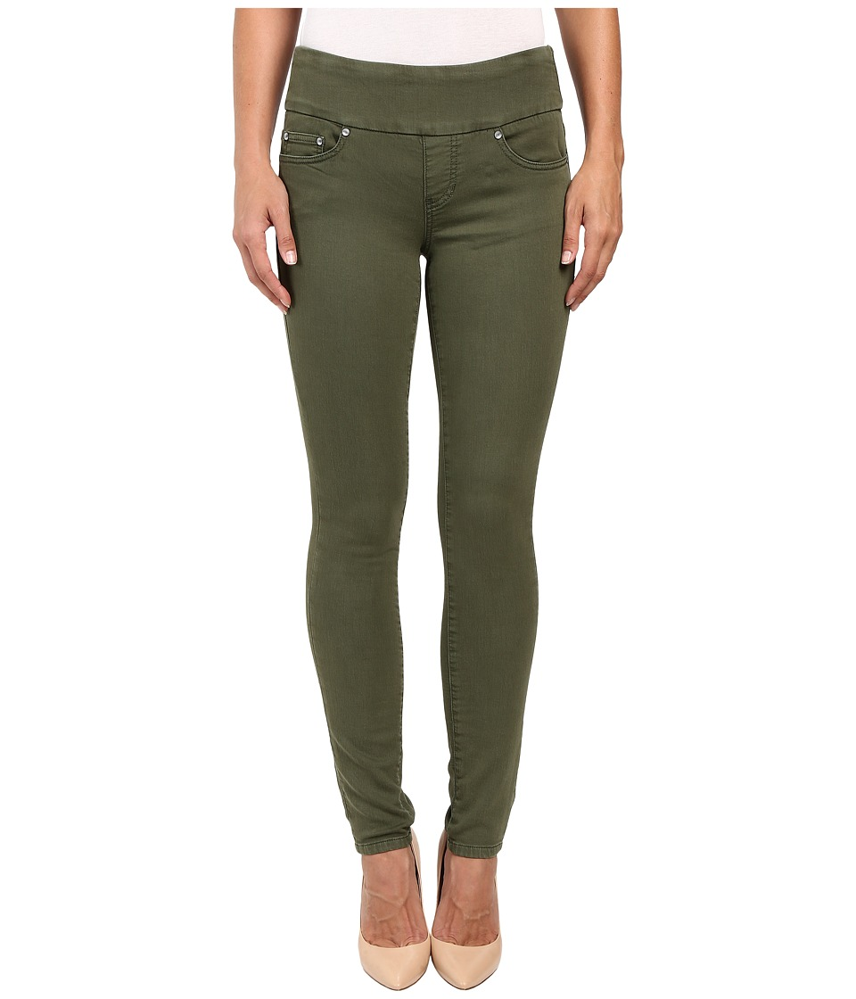 Jag Jeans Nora Pull-On Skinny Freedom Colored Knit Denim in Canteen (Canteen) Women