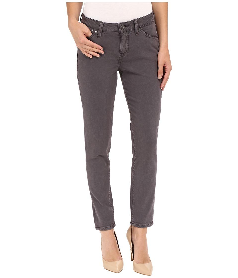 Jag Jeans Penelope Slim Ankle Supra Colored Denim in Coal Coal Womens Jeans