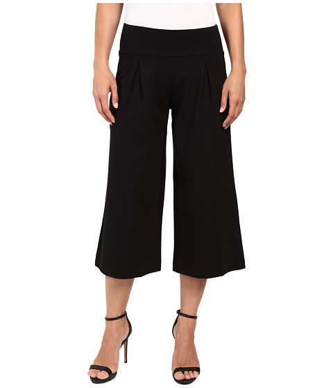 Jag Jeans Roxie Gaucho Double Knit Ponte in Black
