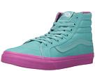 SK8-Hi Slim ((Pop Dots) Aqua Sea/Purple Orchid) Skate Shoes