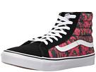 SK8-Hi Slim ((Butterfly Dreams) Black/True White) Skate Shoes