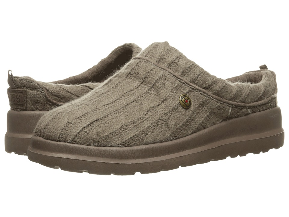 BOBS from SKECHERS Cherish Bob-Sled (Taupe) Women