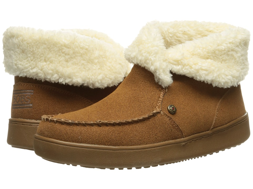 BOBS from SKECHERS Cozy High Mittens (Chestnut) Women