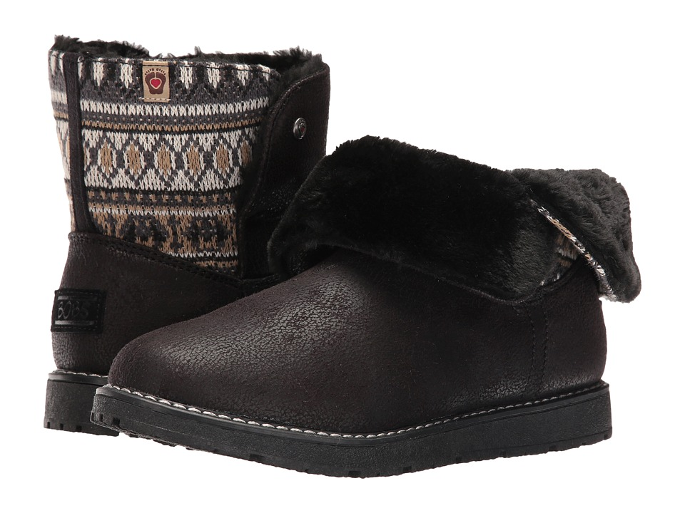 BOBS from SKECHERS Bobs Alpine Snowday (Black) Women
