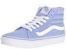 SK8-Hi Slim (Bel Air Blue/True White) Skate Shoes