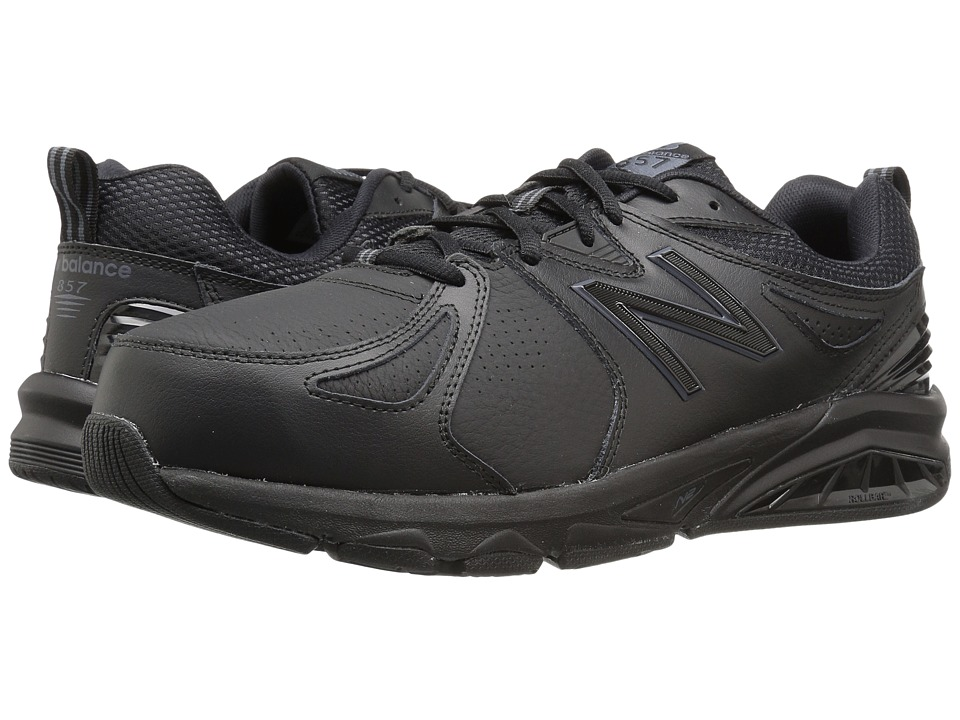 New Balance - MX857v2 (Black/Black) Mens Cross Training Shoes
