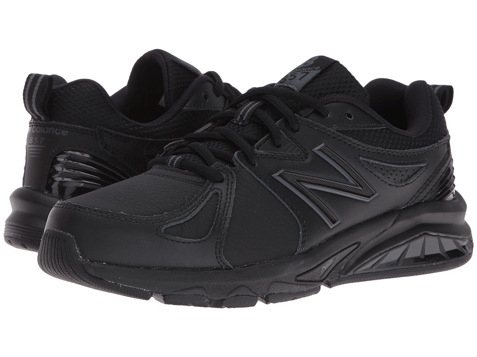New Balance WX857v2 (Black/Black) Women's Cross Training Shoes