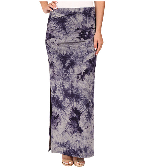 three dots lea shired maxi skirt w side 6pm