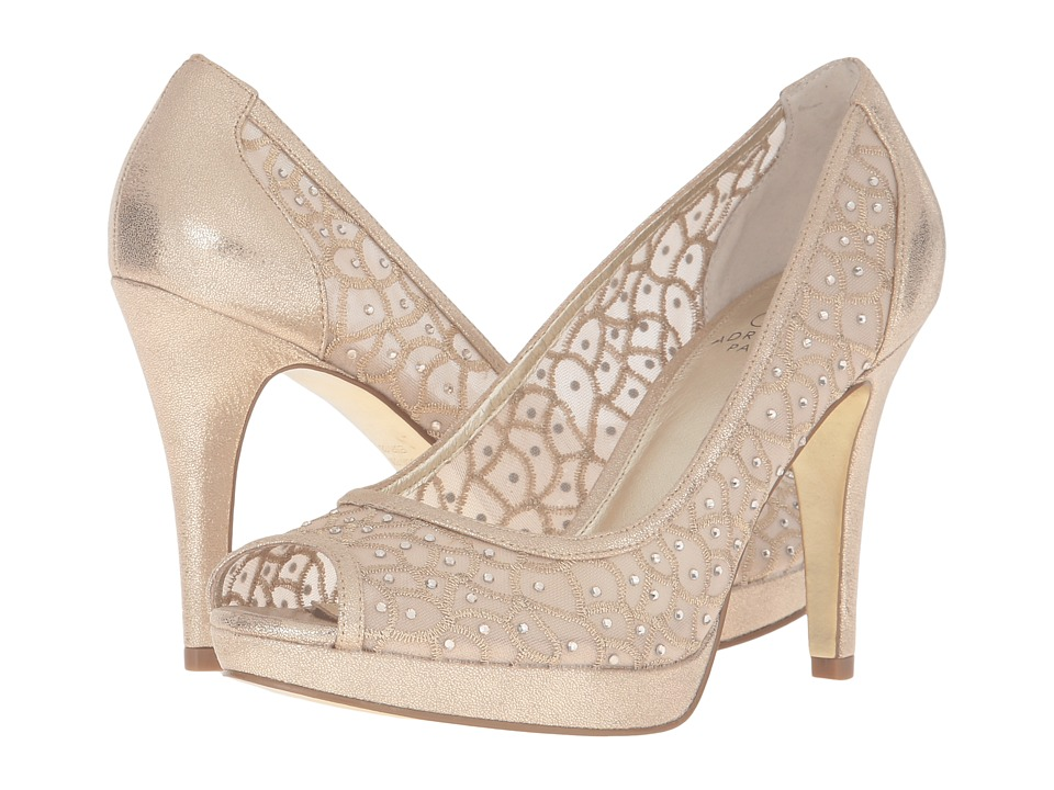 Adrianna Papell Foxy (Gold) High Heels