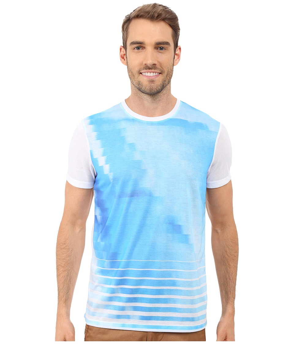 Calvin Klein - Short Sleeve Graident Sublimated Tee (White) Men