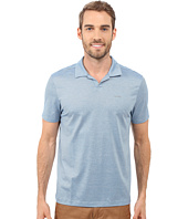 Calvin Klein - End on End Stripe Johnny Collar Polo