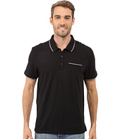 Calvin Klein - Liquid Cotton Short Sleeve Slub Tipped Polo