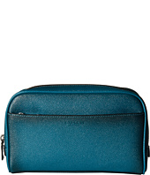COACH - Burnished Crossgrain Travel Kit