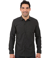 Calvin Klein - Long Sleeve Crosshatch Dobby Woven Shirt