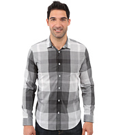 Calvin Klein - Long Sleeve Voile Plaid Woven Shirt
