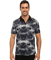 Calvin Klein - Short Sleeve All Over Printed Polo w/ Contrast Collar