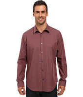 Calvin Klein - Long Sleeve Tonal Mini Check Woven Shirt