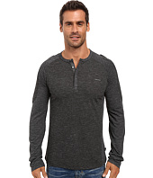 Calvin Klein - Long Sleeve Color Blocked Henley