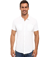 Calvin Klein - Liquid Cotton Short Sleeve Coat Front Polo