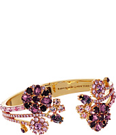 Kate Spade New York - Trellis Blooms Open Hinge Cuff Bracelet