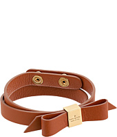 Kate Spade New York - Wrap Things Up Leather Bow Wrap Bracelet