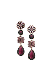 Kate Spade New York - Trellis Blooms Statement Linear Earrings