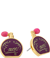 Kate Spade New York - On Pointe Perfume Bottle Studs Earrings