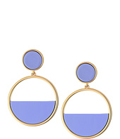 Kate Spade New York - Set The Tone Drop Hoop Earrings