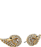 Kate Spade New York - Take The Cake Pave Swan Studs Earrings