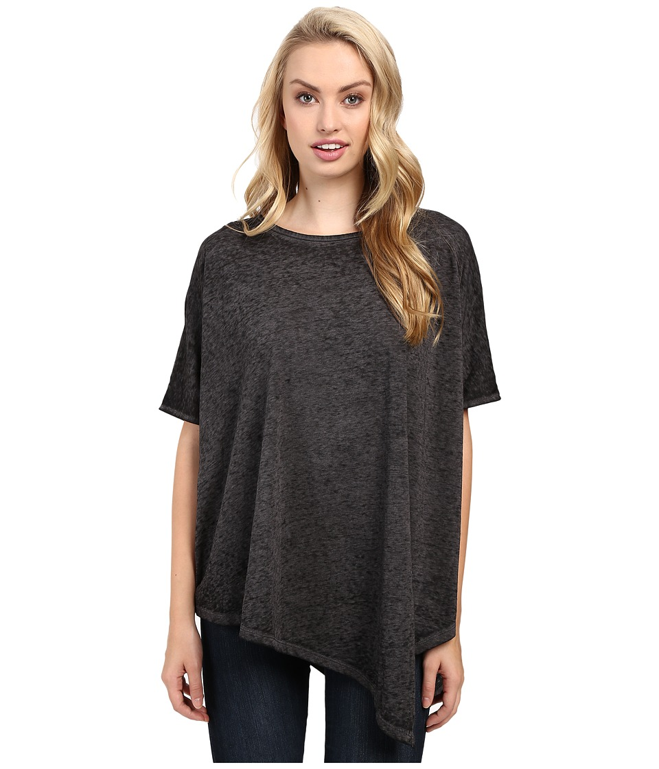 Jag Jeans Isabelle Poncho Tee Burnout Jersey (Black) Women
