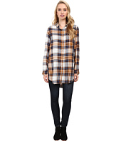 Jag Jeans - Magnolia Tunic Rayon Yd Plaid in Camel