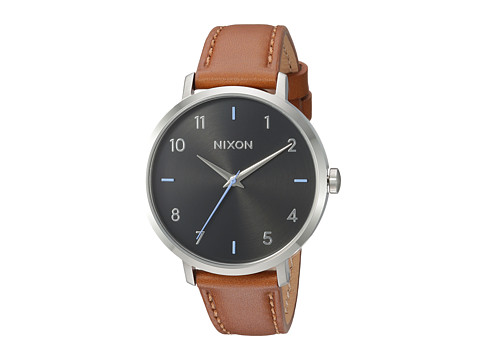 Nixon Arrow Leather - Black/Brown