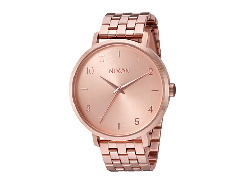 Nixon Arrow - All Rose Gold
