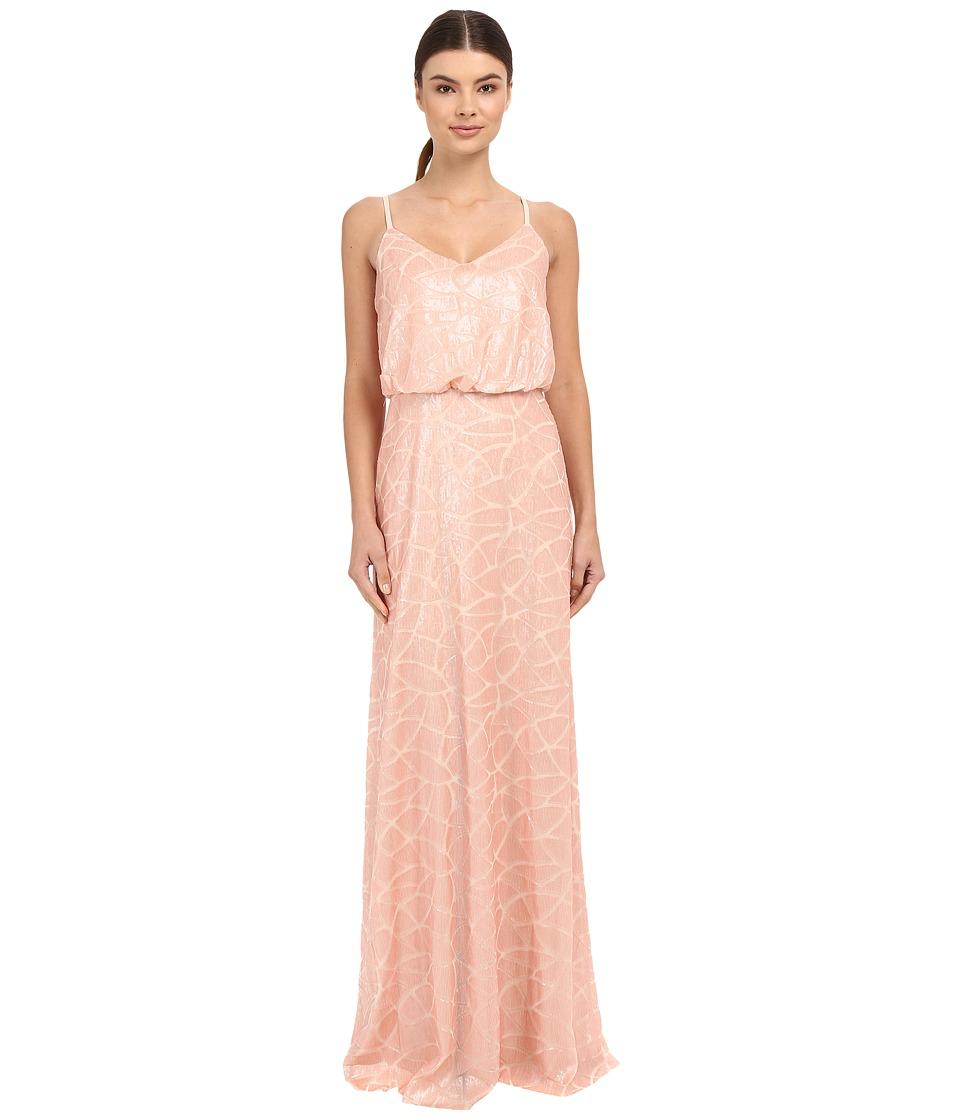 Donna Morgan Blouson Sequin Gown (Posy) Women