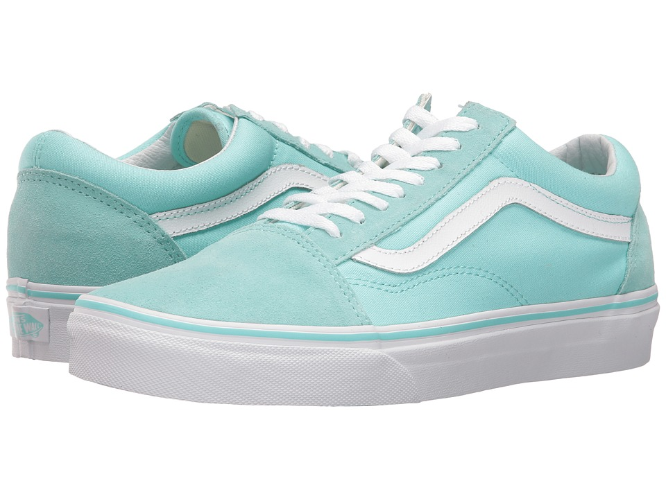 Vans Old Skool (Aruba Blue/True White) Skate Shoes