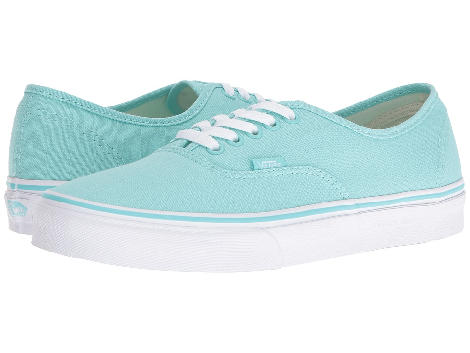 Vans Authentic (Aruba Blue/True White) Skate Shoes