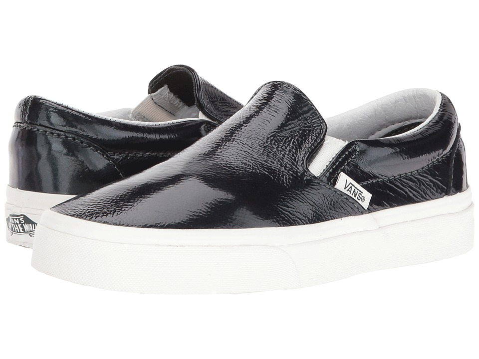 Vans Classic Slip-On ((Hologram) Green Gables/Blanc De Blanc) Skate Shoes