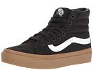 SK8-Hi Slim ((Light Gum) Black) Skate Shoes