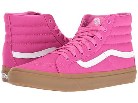 Vans SK8-Hi Slim - (Light Gum) Raspberry Rose