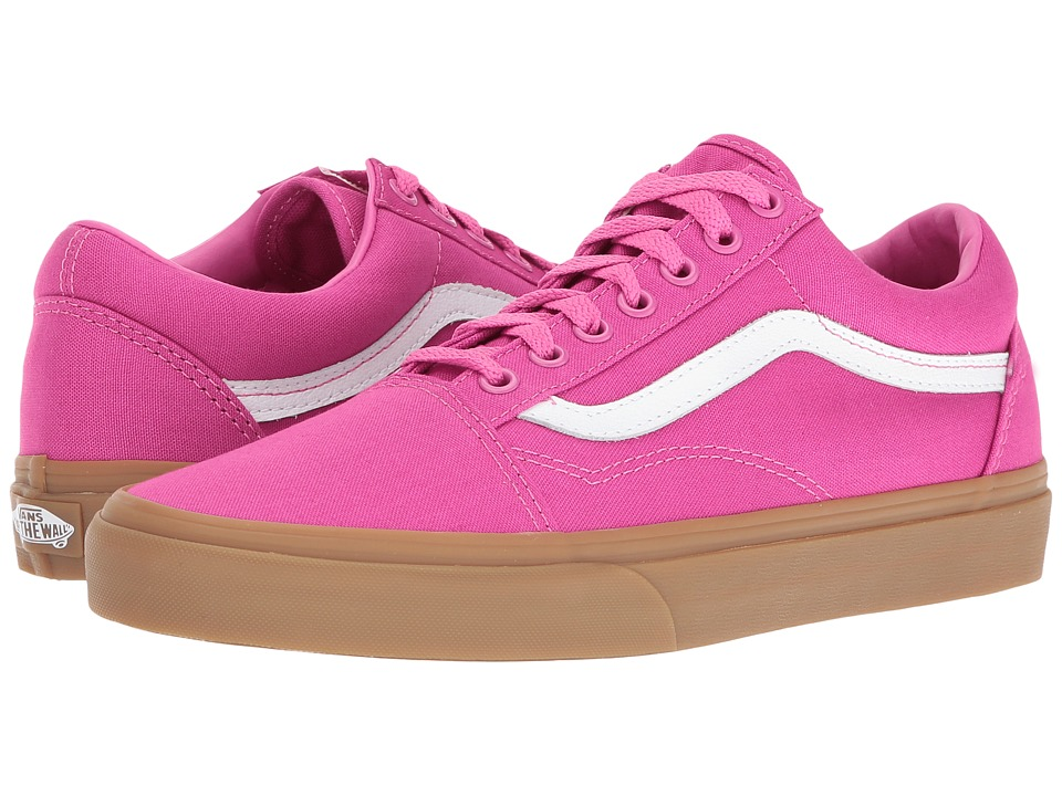 Vans Old Skool ((Light Gum) Raspberry Rose) Skate Shoes