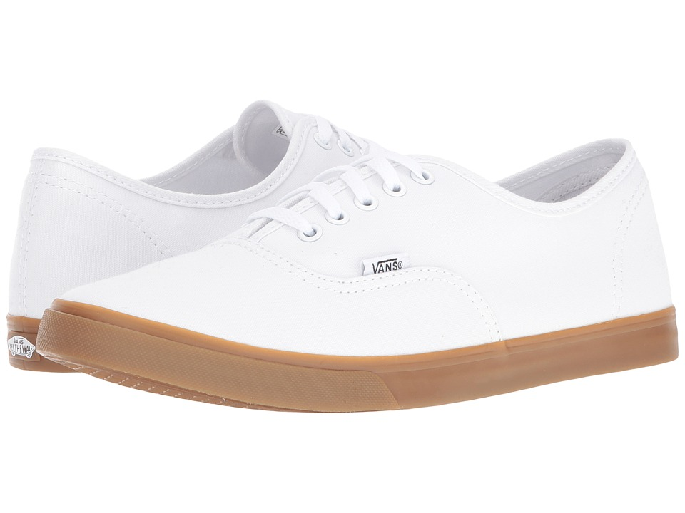Vans Authentic Lo Pro ((Light Gum) True White) Skate Shoes