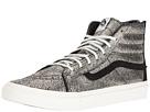 SK8-Hi Slim Zip ((Gold Dots) Gold/Blanc De Blanc) Skate Shoes