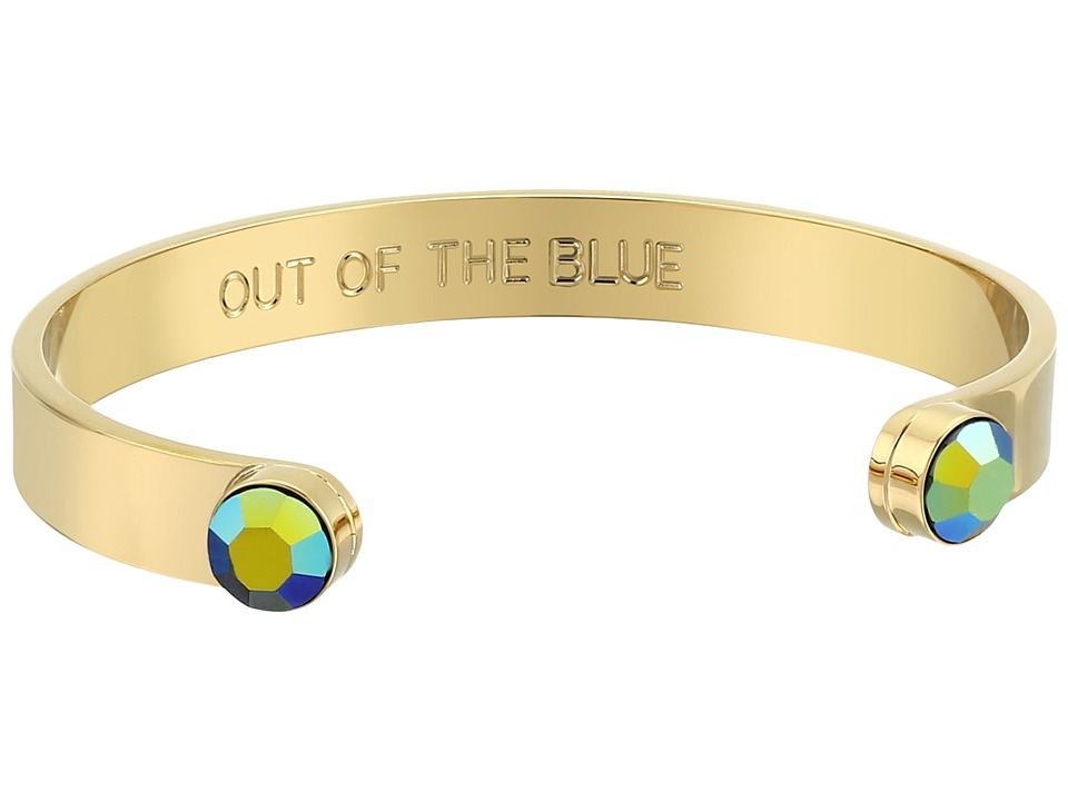 Kate Spade New York - Forever Gems Cuff Bracelet (Blue Ab) Bracelet