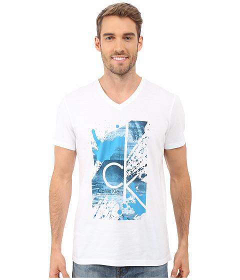 Calvin Klein Short Sleeve CK Splatter Paint Tee